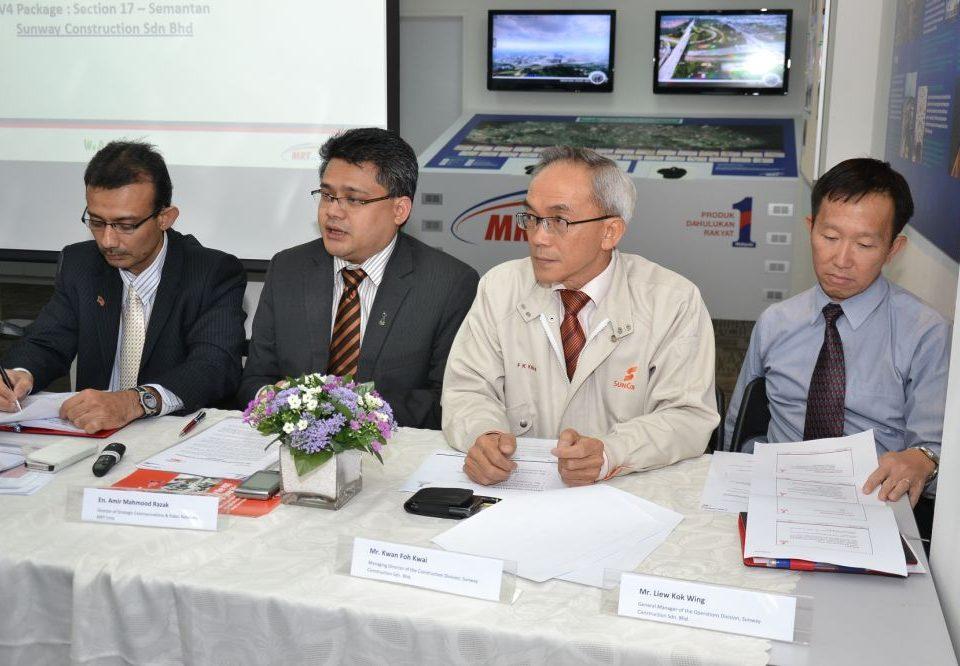 MRT Viaduct Work Package (V4) Media Briefing