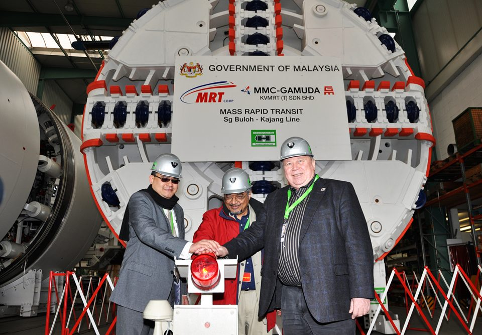 First Tunnel Boring Machine Ready For Action