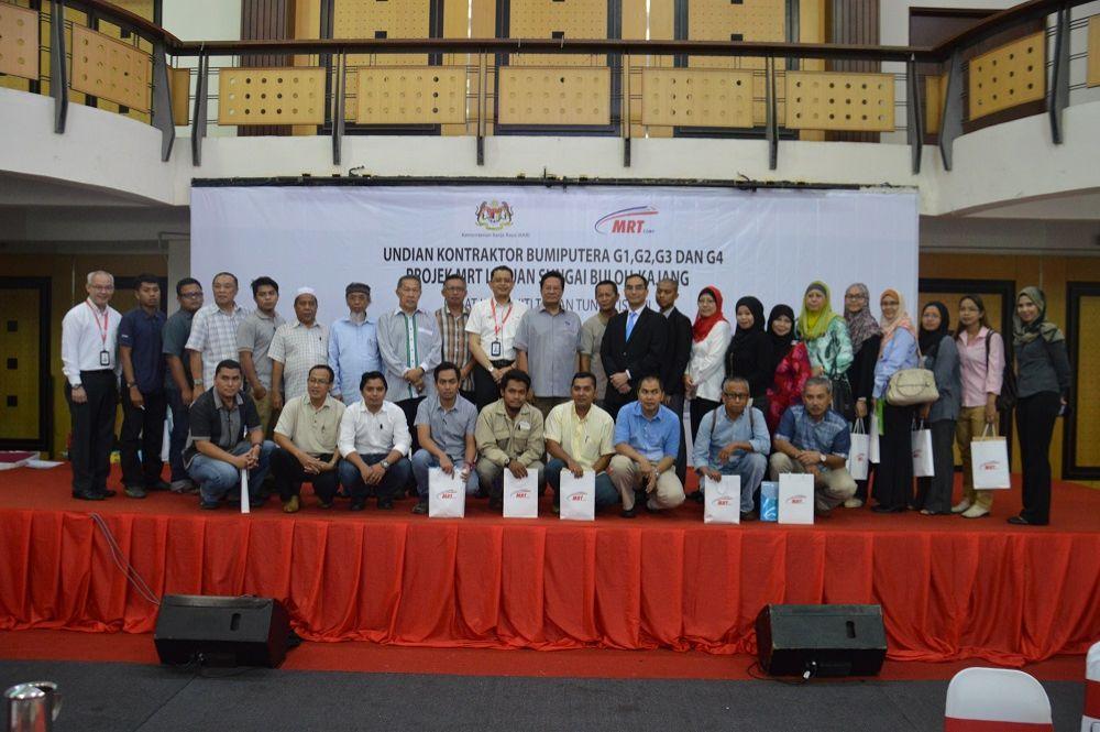 27 Kontrak Dianugerahkan Kepada Kontraktor Bumiputera Mrt Corp