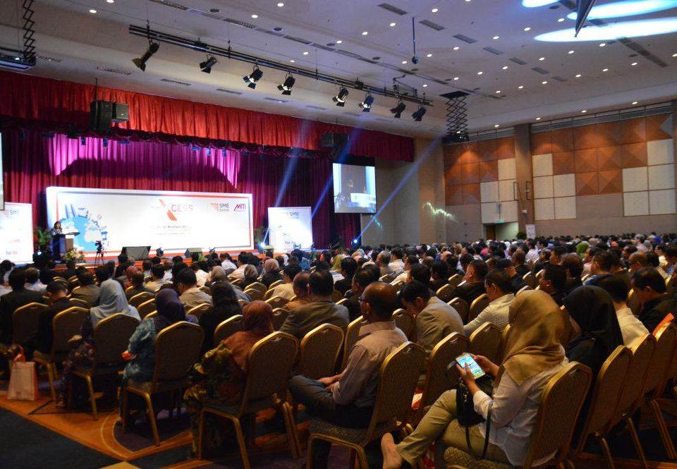 GOOD TURNOUT: Attendees of the SME BANK XCESS 2016 workshop listening to the opening remarks that was presented by Tan Sri Rafidah Aziz.