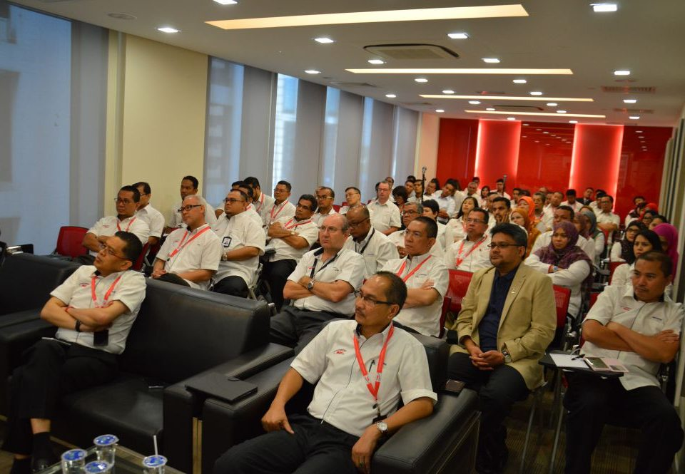 UPMOST ATTENTION: The attendees of the inaugural Mass Rapid Transit Corporation Sdn Bhd (MRT Corp) Integrity Executive Talk programme listening with full attention about the importance of integrity in an organisation.