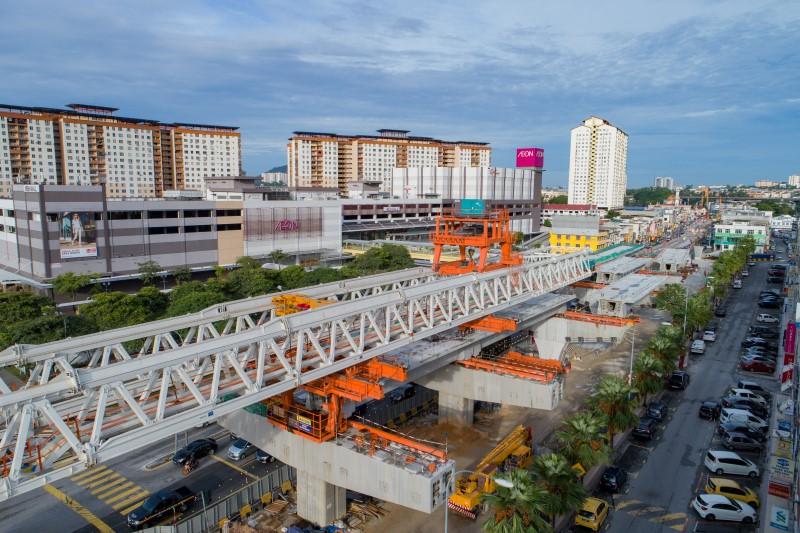 Pelancaran Galang Kekotak Bersegmen di tapak Stesen MRT Metro Prima.