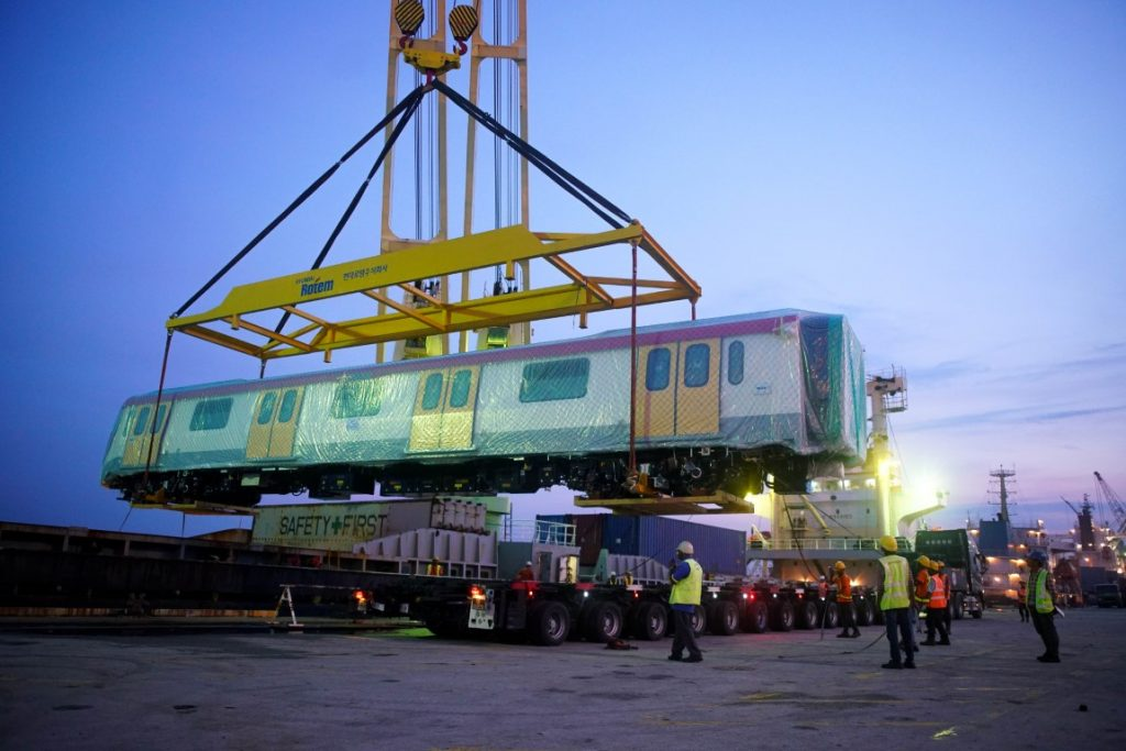 MRT-Corp-Events-May-2019-ARRIVAL-OF-SSP-LINE-FIRST-TWO-COMPLETELY-BUILT-UP-ELECTRIC-TRAINS-3-1024x683