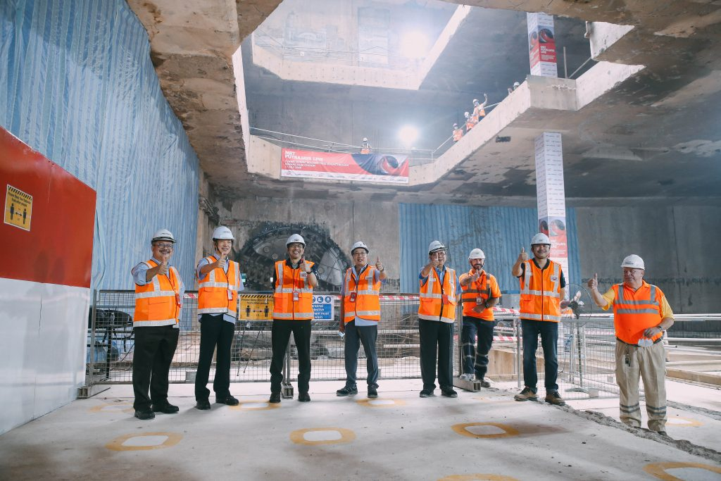 MRT-Corp-Events-July-2020-FINAL-TUNNEL-BORING-MACHINE-BREAKTHROUGH-FOR-THE-MRT-PUTRAJAYA-LINE-1-1024x683