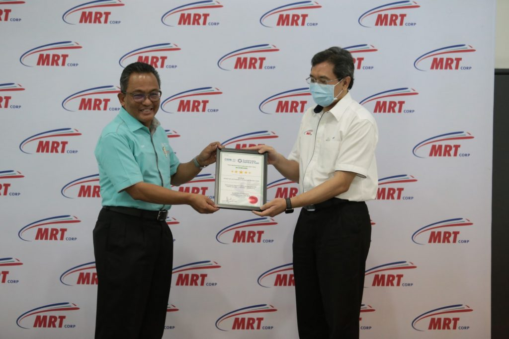 MRT-Corp-Events-April-2021-MRT-CORP-ACHIEVES-5-STAR-SUSTAINABLE-INFRASTAR-RATING-3-1024x683