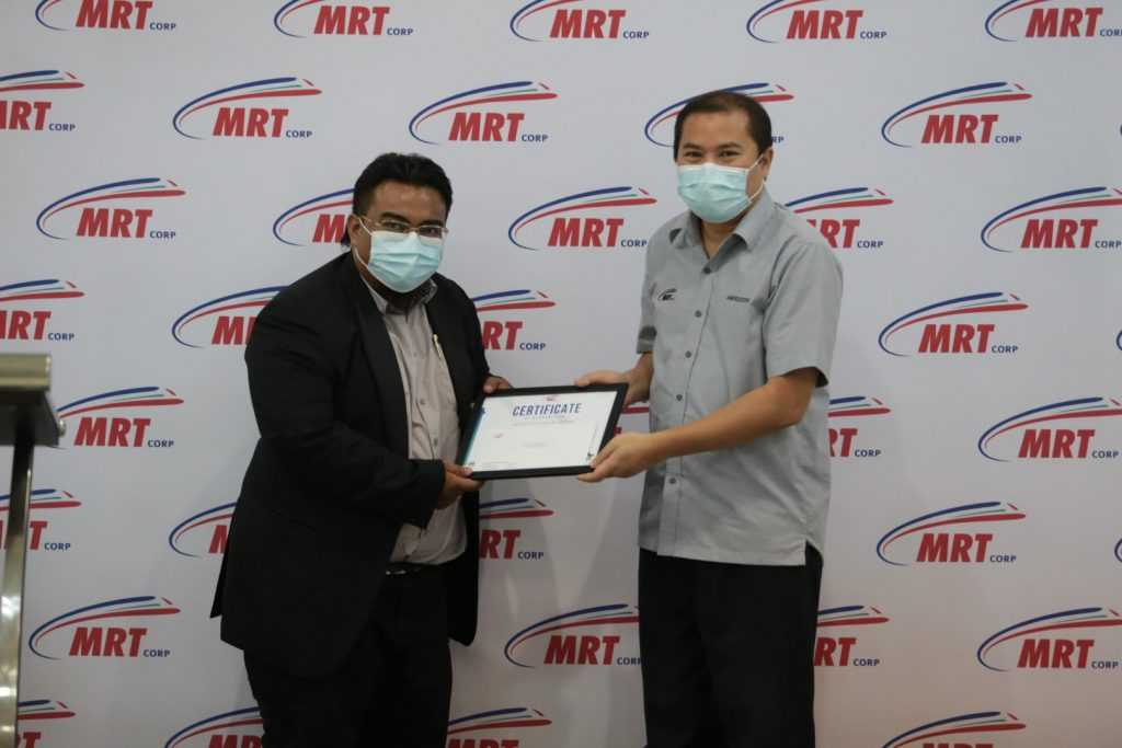 MRT-Corp-Events-April-2021-MRT-CORP-ACHIEVES-5-STAR-SUSTAINABLE-INFRASTAR-RATING-5-1024x683